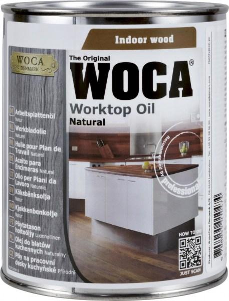 Woca Arbeitsplattenöl weiß, 0,75 Liter