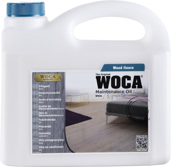 Woca Pflegeöl Extra Weiß, 1,0 Liter