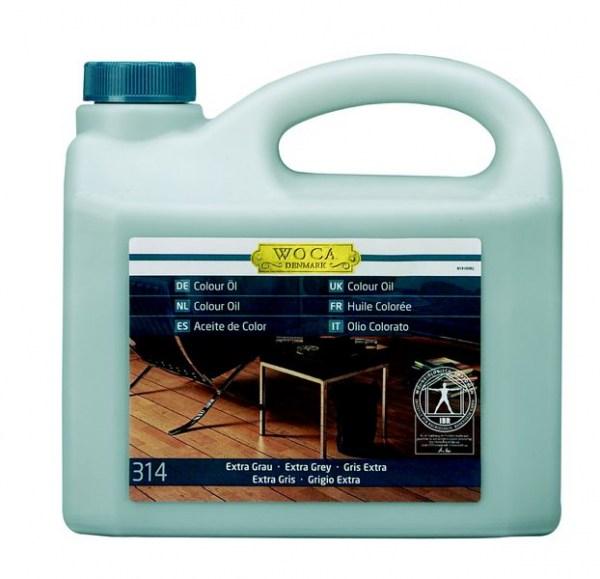 Woca Colouröl Nr. 314 - extra grau, 2,5 Liter