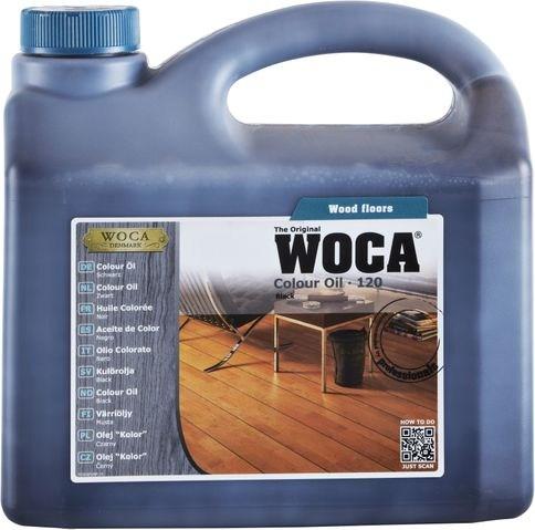 Woca Colouröl Nr. 120 - Schwarz -, 2,5 Liter
