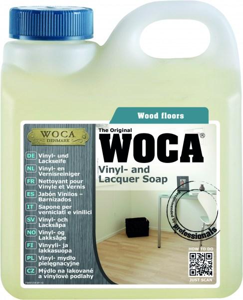 Woca Vinyl- und Lackseife, 1,0 Liter