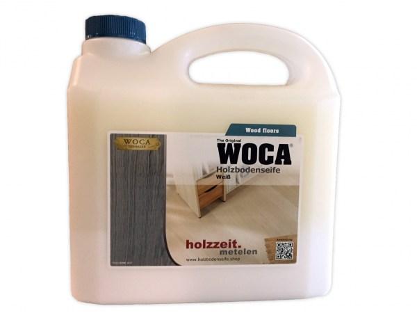 Woca Holzbodenseife Weiß, 3,0 Liter