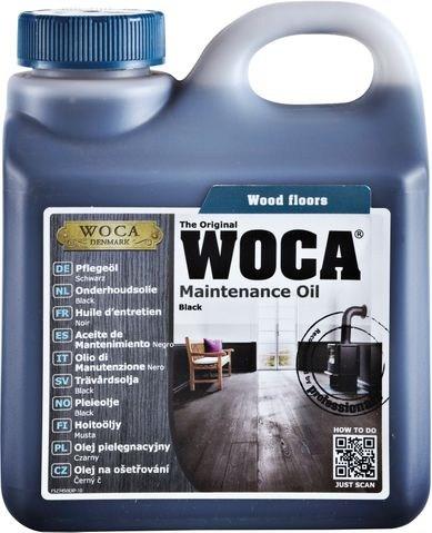 Woca Pflegeöl Schwarz, 1,0 Liter