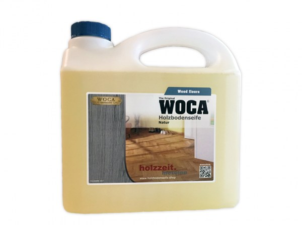 Woca Holzbodenseife Natur, 3,0 Liter