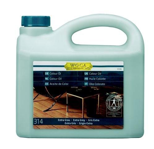 Woca Colouröl Nr. 314 - Extra Grau -, 2,5 Liter