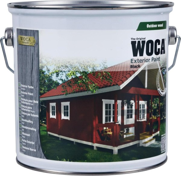Woca Exterior Farbe rot, 0,75 Liter