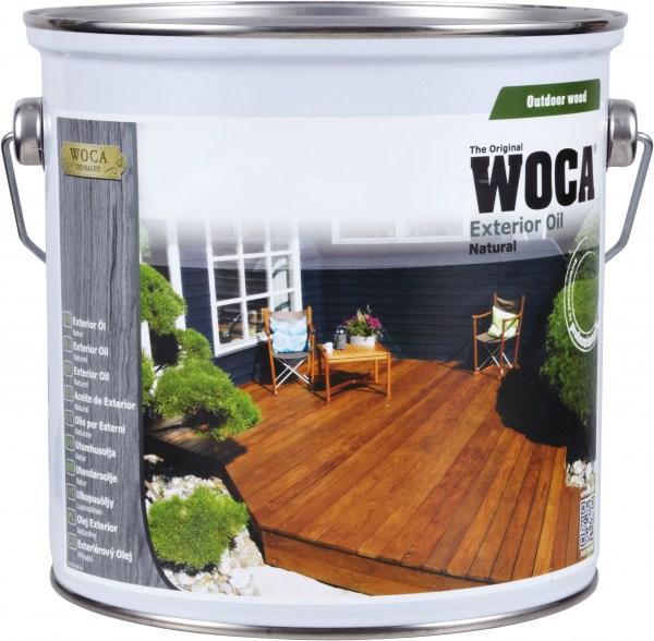 Woca Exterior Öl Lärche, 0,75 Liter