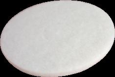 Super Padscheiben weiß