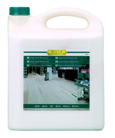 Woca High Solid Meisteröl Extra Weiß 13 %, 2,5 Liter