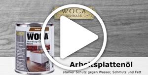 WOCA Arbeitsplattenöl Videoanleitung