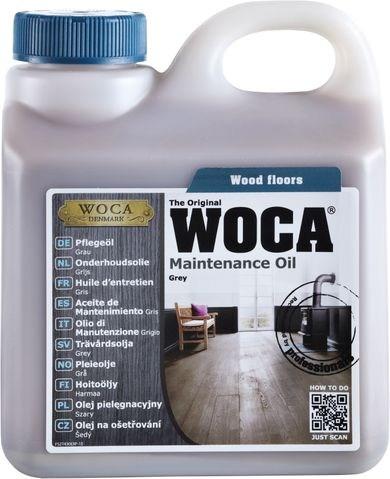 Woca Pflegeöl Grau, 1,0 Liter