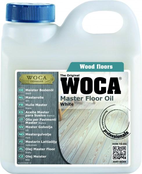 WOCA Meister Bodenöl weiß, 1,0 Liter